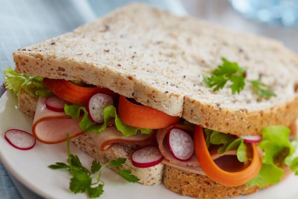 sandwich bread ingredients